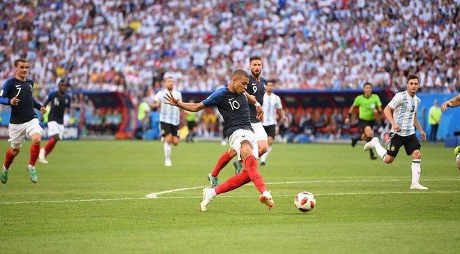 Збірна Аргентини вперше в історії програла, забивши мінімум тричі
