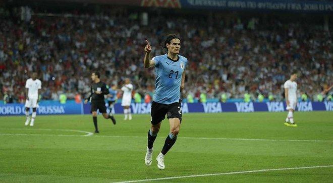 Уругвай – Португалія: Кавані визнали найкращим гравцем матчу