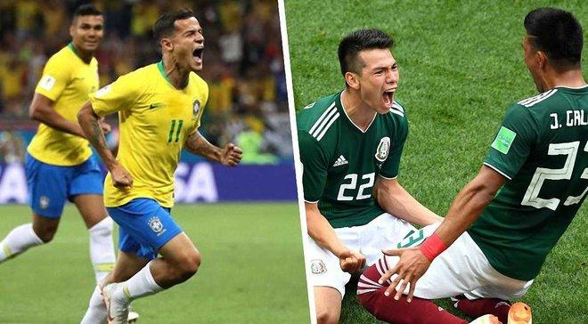 Бразилия обыграла команду Мексики наЧМ