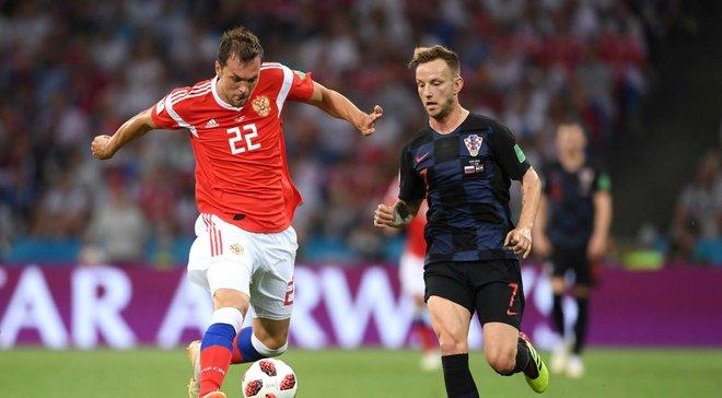 Россия – Хорватия – 2:2 (пен. 3:4) – видео голов и обзор матча