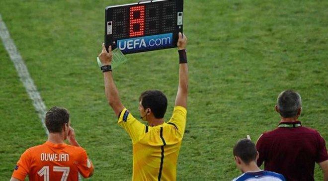 В Лиге чемпионов и Лиге Европы разрешили проводить 4 замену в экстра-таймах