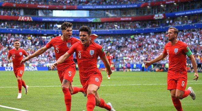 ЧС-2018: Англія вдруге в історії забила 10 голів на Мундіалі