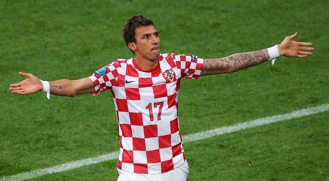 Манджукич: думаю, шансы Хорватии напобеду вполуфинале