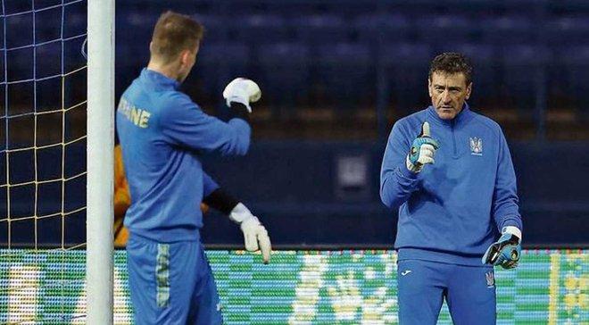 Тренер сборной Украины Педро Харо: Реал не будет ждать от Лунина результата очень долго