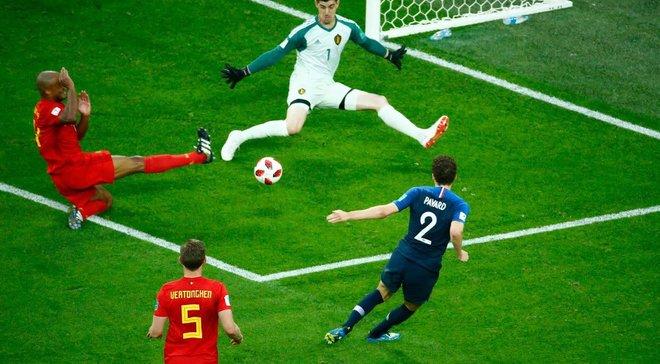 Куртуа: Франция играла в антифутбол