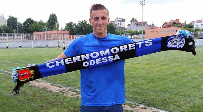 Літовченко та Трубочкін перейшли у Чорноморець, Татарков продовжив контракт з одеським клубом