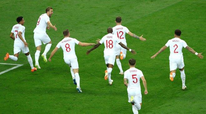 Хорватія – Англія: британці на ЧС-2018 забили 9 голів зі стандартів та побили рекорд, який тримався з 1966 року