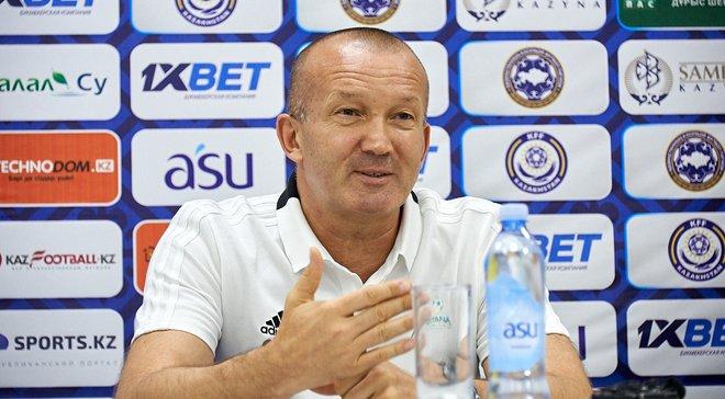 Григорчук: В украинском футболе 5 лет назад зарплаты были выше, чем сейчас в Казахстане
