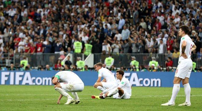 Хорватія – Англія: британці вдруге в історії програли в півфіналі чемпіонату світу