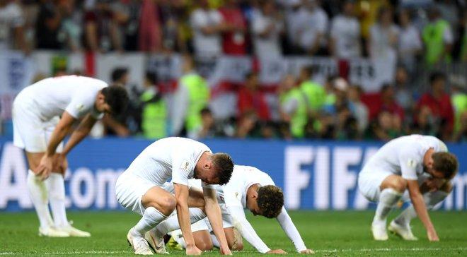 Збірна Англії програла чотири останніх півфінали на чемпіонатах світу та Європи