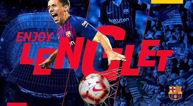 Лангле стал игроком Барселоны