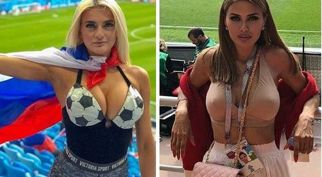 ЧС-2018: ФІФА забороняє показувати російських вболівальниць під час матчів, український тренер – проти