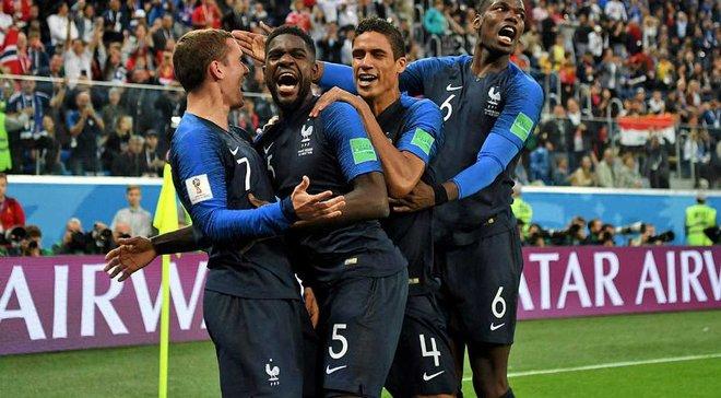 Франція – Хорватія: Nike вже випустила футболки на честь перемоги французів у фіналі ЧС-2018
