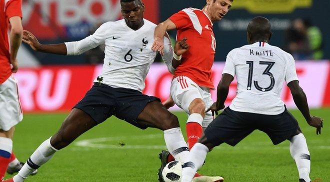 Франція – Хорватія: французи жодного разу не програвали, коли у стартовому складі виходили Канте та Погба