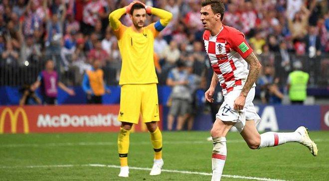 Франция – Хорватия: Манджукич забил после ужасной ошибки Льориса