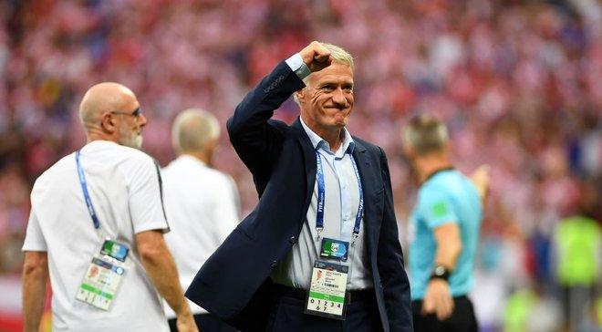 Франція – Хорватія: Дешам став третім переможцем чемпіонату світу в ролі гравця та тренера