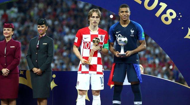 Модрич: Горжусь званием лучшего игрока ЧМ-2018