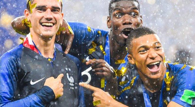 """""""Vive la France"""", """"Merci"""" та """"IncrediBleus"""". Перемога Франції у фіналі ЧС-2018 в огляді європейських ЗМІ"""
