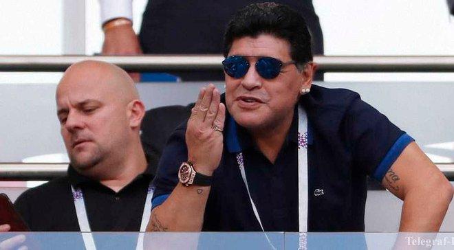 Марадона: Сейчас нет игроков, которые забивают большие голы