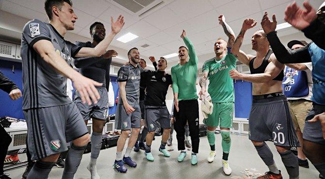 ЛЧ-2018/19, 1-й квалификационный раунд: Лудогорец и Легия прошли дальше
