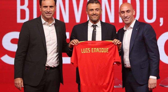 Луис Энрике презентован в качестве главного тренера сборной Испании