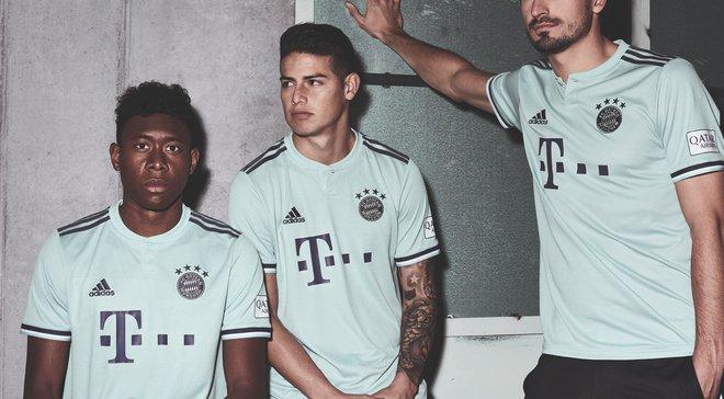 Баварія презентувала виїзну форму на новий сезон