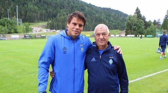 Вукоєвіч привітав Динамо з перемогою у Суперкубку України