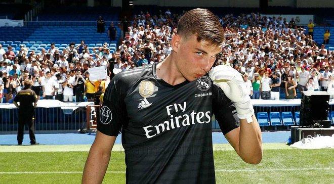 Лунин – о своем будущем в Реале: Посмотрим, что будет лучше для меня