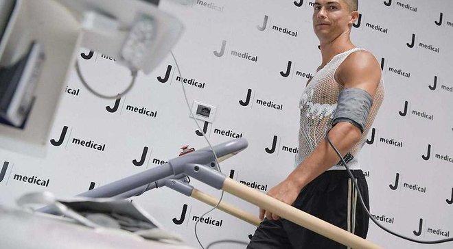 Ювентус исследовал физический потенциал Роналду – фантастические результаты
