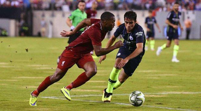 Манчестер Сити с Зинченко проиграл Ливерпулю в матче Международного кубка чемпионов