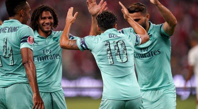 Арсенал – ПСЖ – 5:1 – видео голов и обзор матча