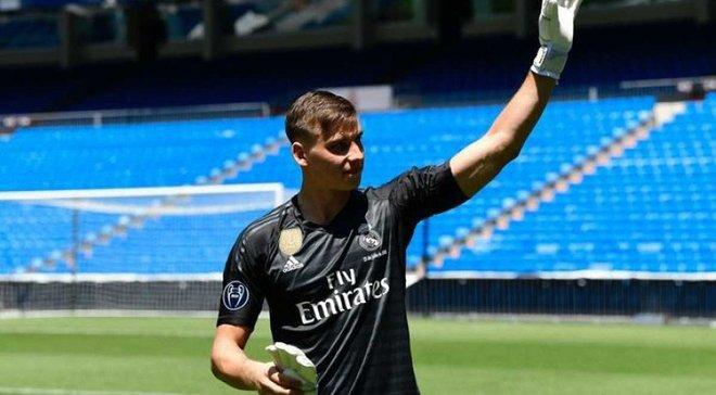 Лунін може дебютувати у складі Реала цієї ночі