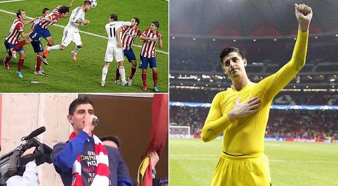 Топ-8 перлів Куртуа на презентації в Реалі: чому посилав Мадрид в дупу, про Азара, Рамоса, Атлетіко