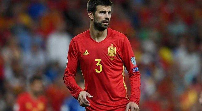 Пике завершил выступления за сборную Испании