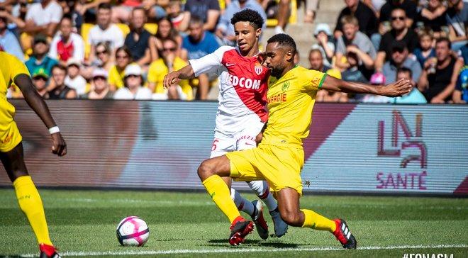Монако начал новый сезон в Лиге 1 с победы над Нантом