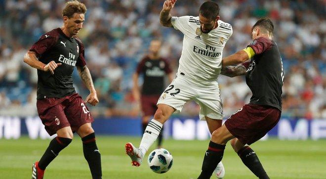 Реал здолав Мілан у матчі за Кубок Бернабеу – Лунін знову зіграв на нуль