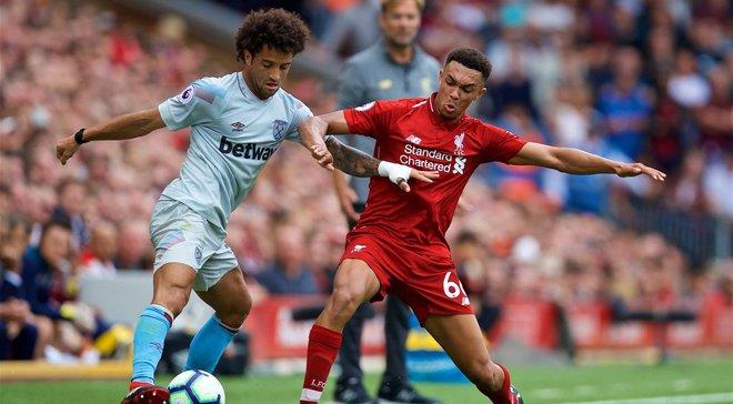 Ліверпуль– Вест Хем– 4:0 – відео голів та огляд матчу
