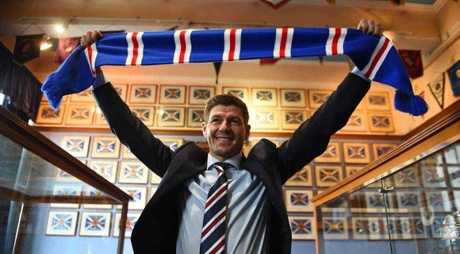 Джеррард выиграл свой первый матч в чемпионате Шотландии во главе Рейнджерс