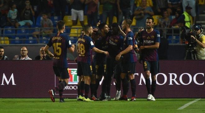 Барселона одержала волевую победу над Севильей и выиграла Суперкубок Испании