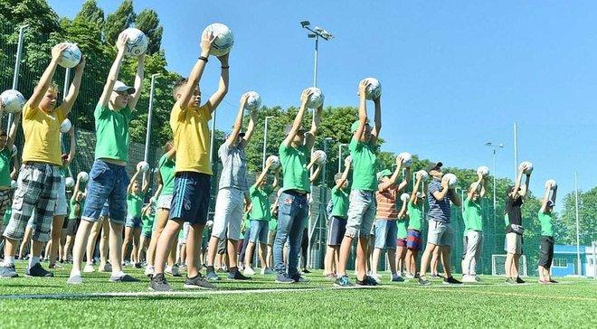 Вадим Костюченко: Цього літа в рамках спеціальної програми ФФУ було проведено майже 100 відкритих уроків футболу