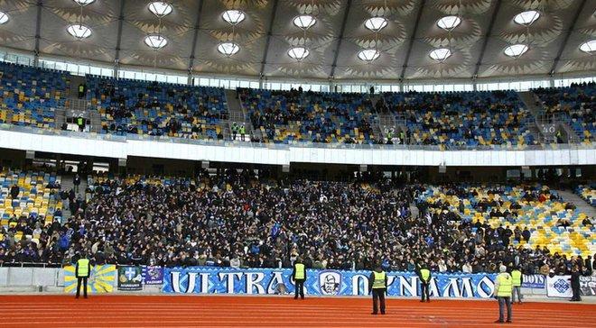 Динамо – Славія: один з секторів Олімпійського закриють через санкції УЄФА