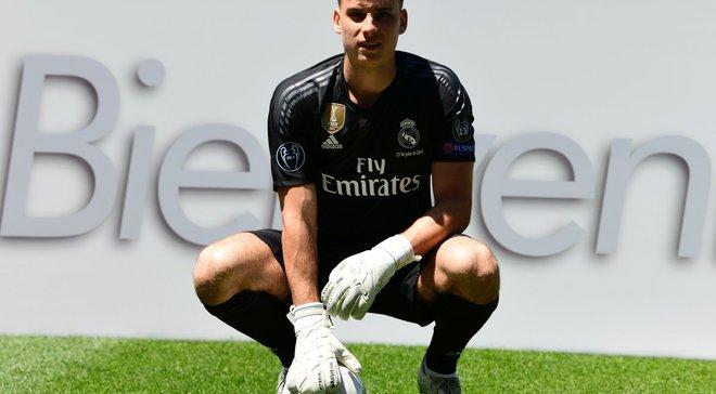 Лунін потрапив у заявку Реала на Суперкубок УЄФА проти Атлетіко