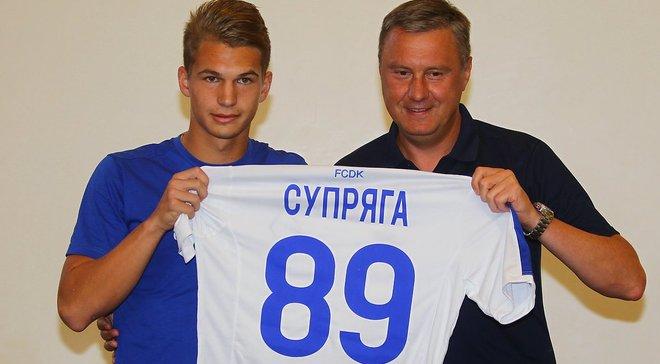 Хацкевич: У Супряги велике майбутнє, він знає традиції Динамо і прагнув сюди потрапити