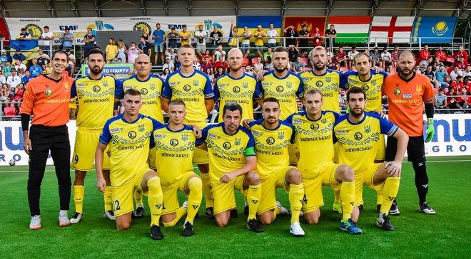 Україна перемогла Словаччину в другому матчі домашнього Євро-2018 з міні-футболу