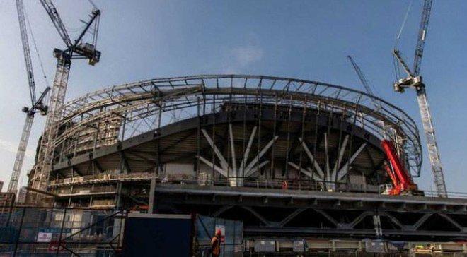 Відкриття стадіону Тоттенхема відкладене через проблеми з системою безпеки
