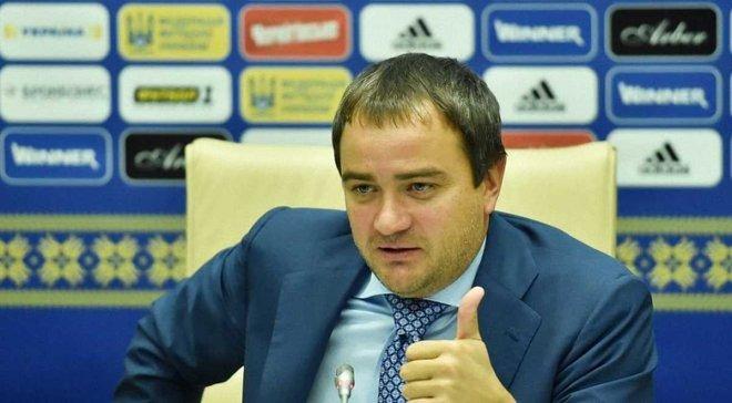 Павелко поздравил Динамо с выходом в плей-офф квалификации ЛЧ