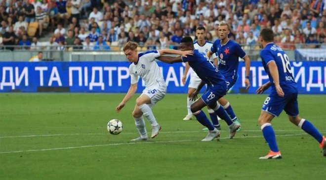 Цыганков стал одним из лучших в 3-м раунде квалификации ЛЧ: британское издание отметило украинца