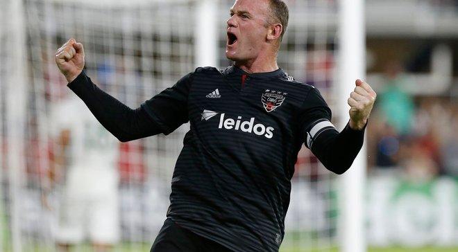 Руни вновь стал героем матча MLS: шикарный гол со штрафного