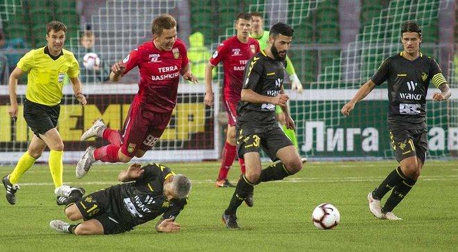 Лига Европы, квалификация: люксембургский Нидеркорн драматично упустил победу над российской Уфой