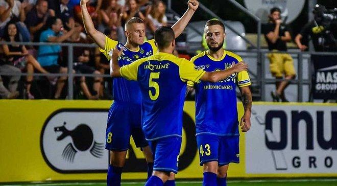 Сборная Украины по мини-футболу в серии пенальти проиграла Англии в четвертьфинале Евро-2018